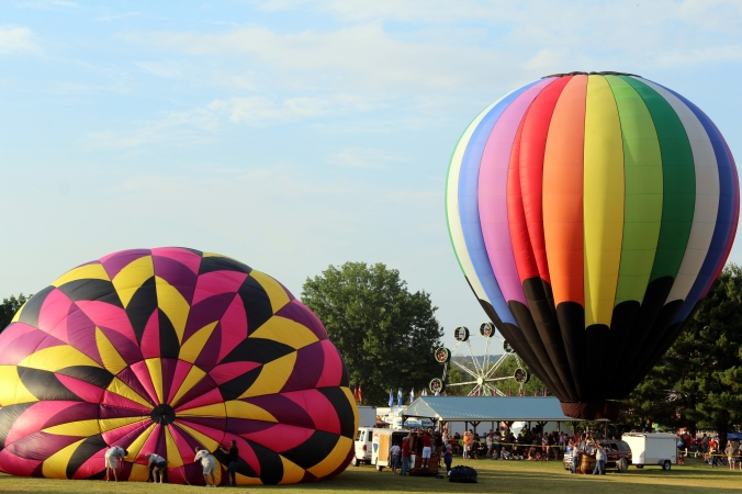 Hot Air Balloon WPA Balloonfest 98