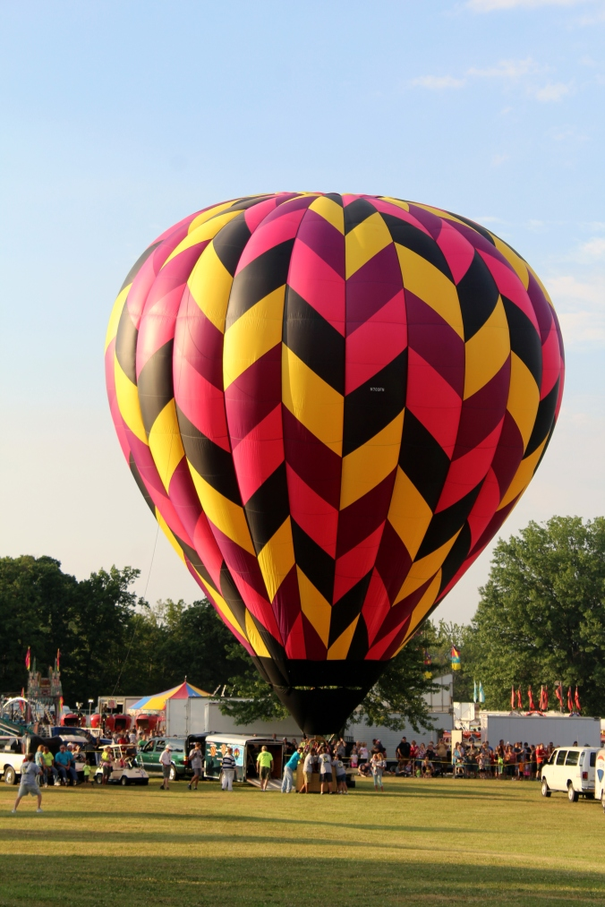 Hot Air Balloon WPA Balloonfest 99
