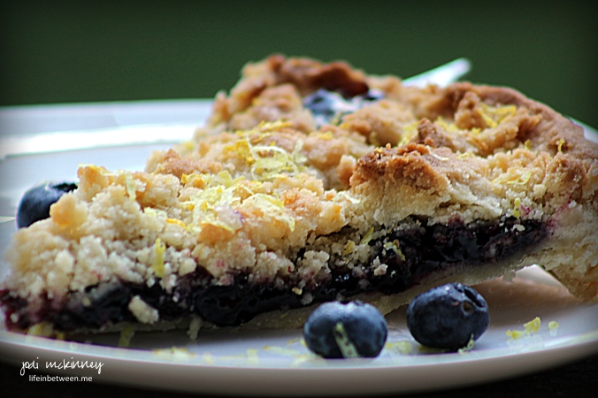 blueberry shortbread tart 2