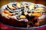 Peach Blueberry Greek Yogurt Cake 1