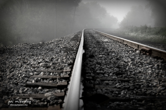 Foggy Morning Railroad Tracks - Mars, PA - August, 2016