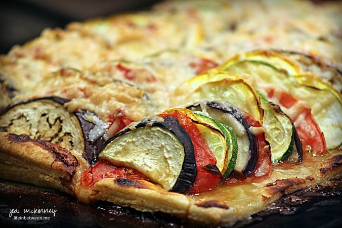 Summer Vegetable Tart Baked