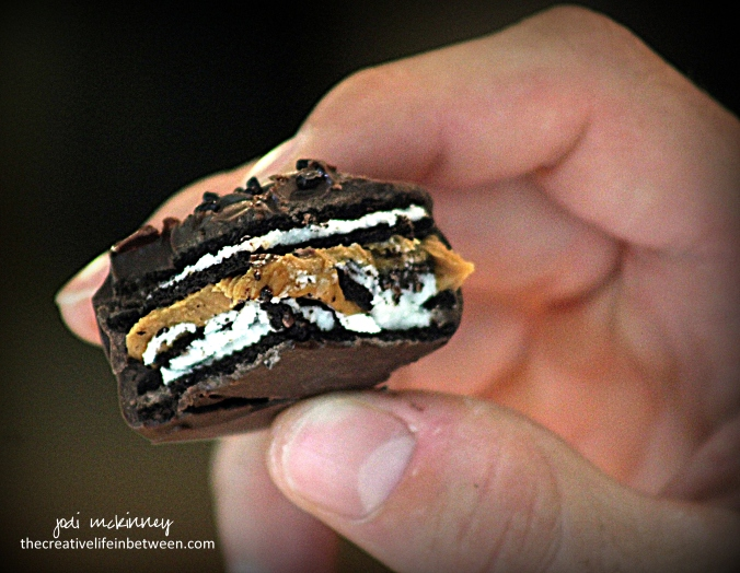 chocolate-covered-cookie-butter-stuffed-oreos-5