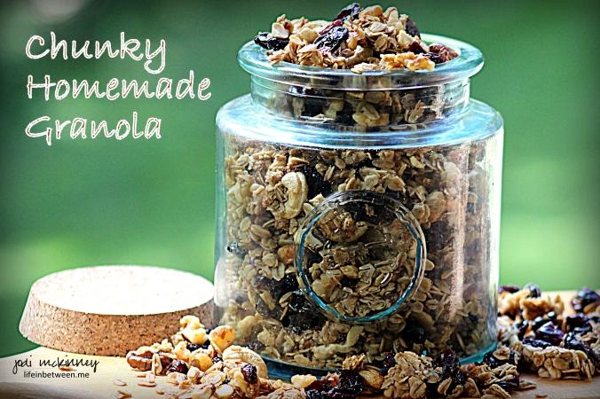 Chunky Homemade Granola 0