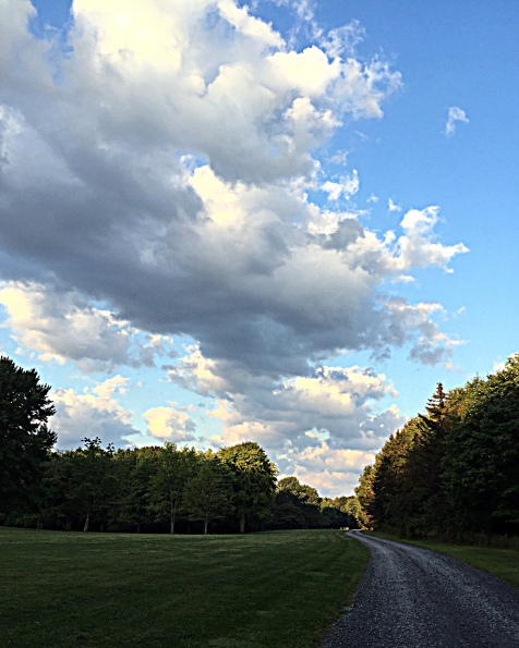 morning-clouds-driveway