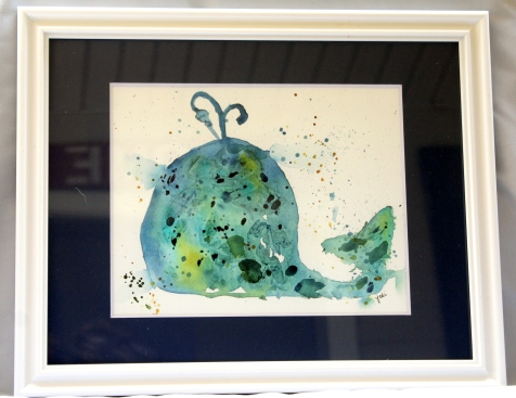 blue-nursery-whale-watercolor-8x10-original-framed-to-11x14