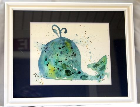 blue-nursery-whale-watercolor-8x10-original-framed-to-11x14