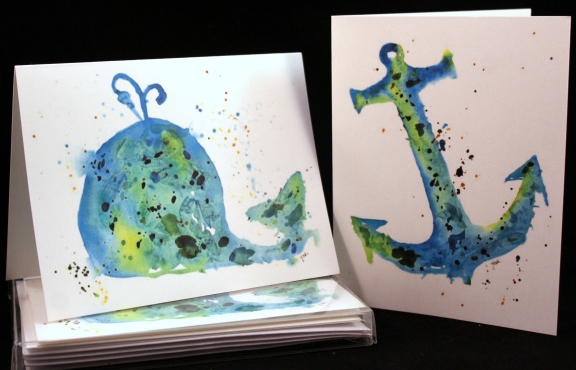 nautical-blue-whale-and-anchor-watercolor-greeting-cards