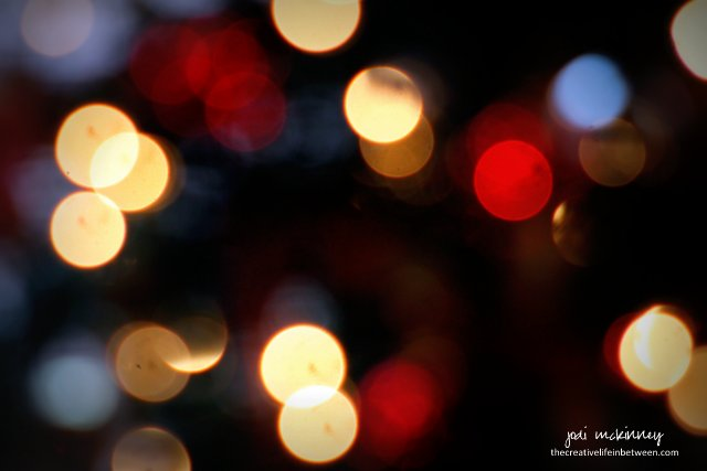 Christmas Tree Lights - Bokeh