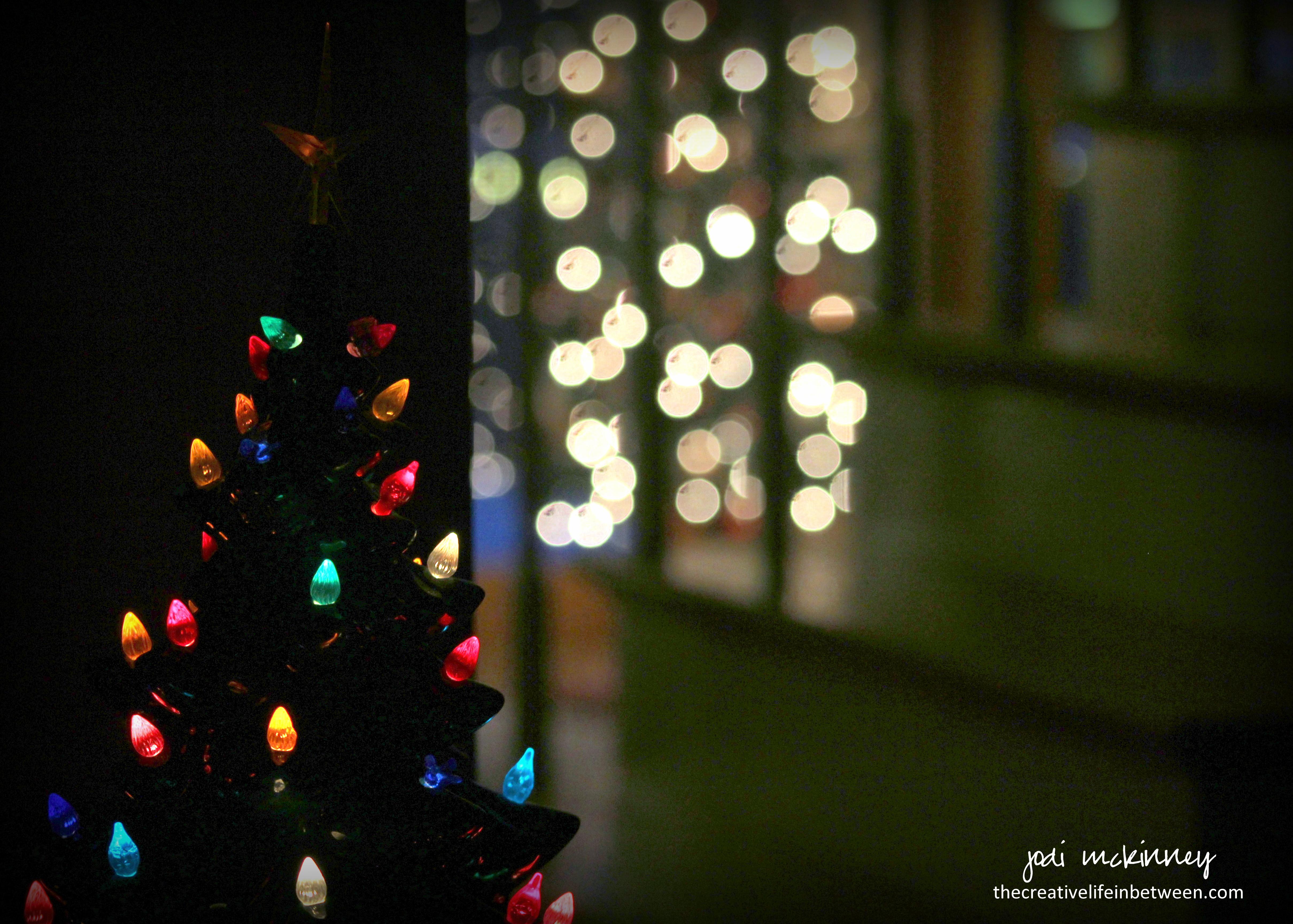 ceramic christmas tree 2016 - Ceramic Christmas Lights