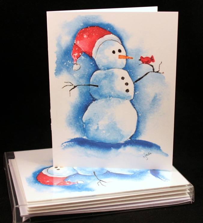 snowy-snowman-holiday-greeting-card