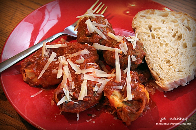 valentine-couples-camp-dinnerstuffed-shells-and-meatballs