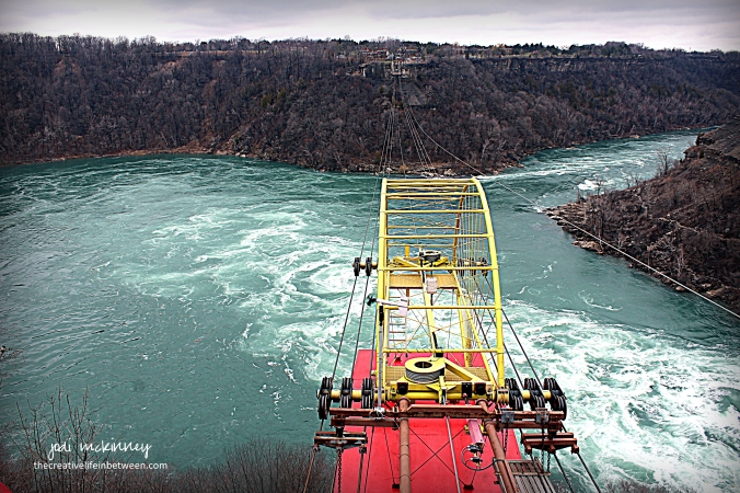 Aero Car over Niagara Whirlpool - Niagara Falls - April 1, 2017