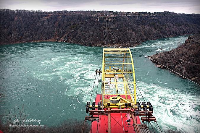 Aero Car over Niagara Whirlpool - Niagara Falls - April 1, 2017