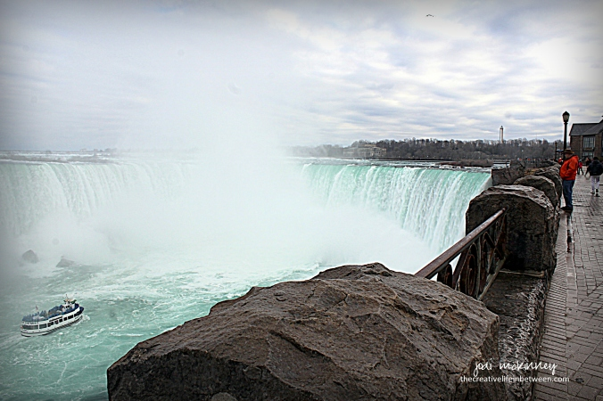 Horseshoe Falls - Niagara Falls - April 1, 2017