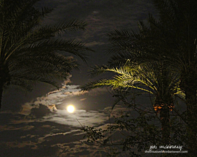 Full Moon over Scottsdale, Arizona - July, 2017