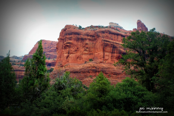 Red Rocks of Sedona, Arizona - July, 2017 - Do you see the face?