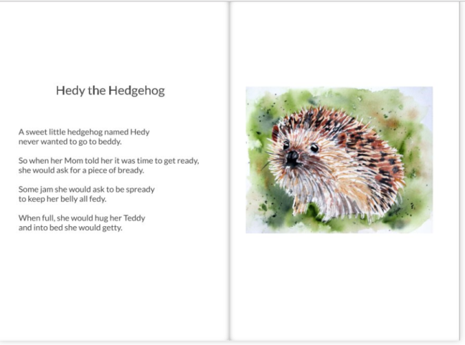 Hedy the Hedgehog