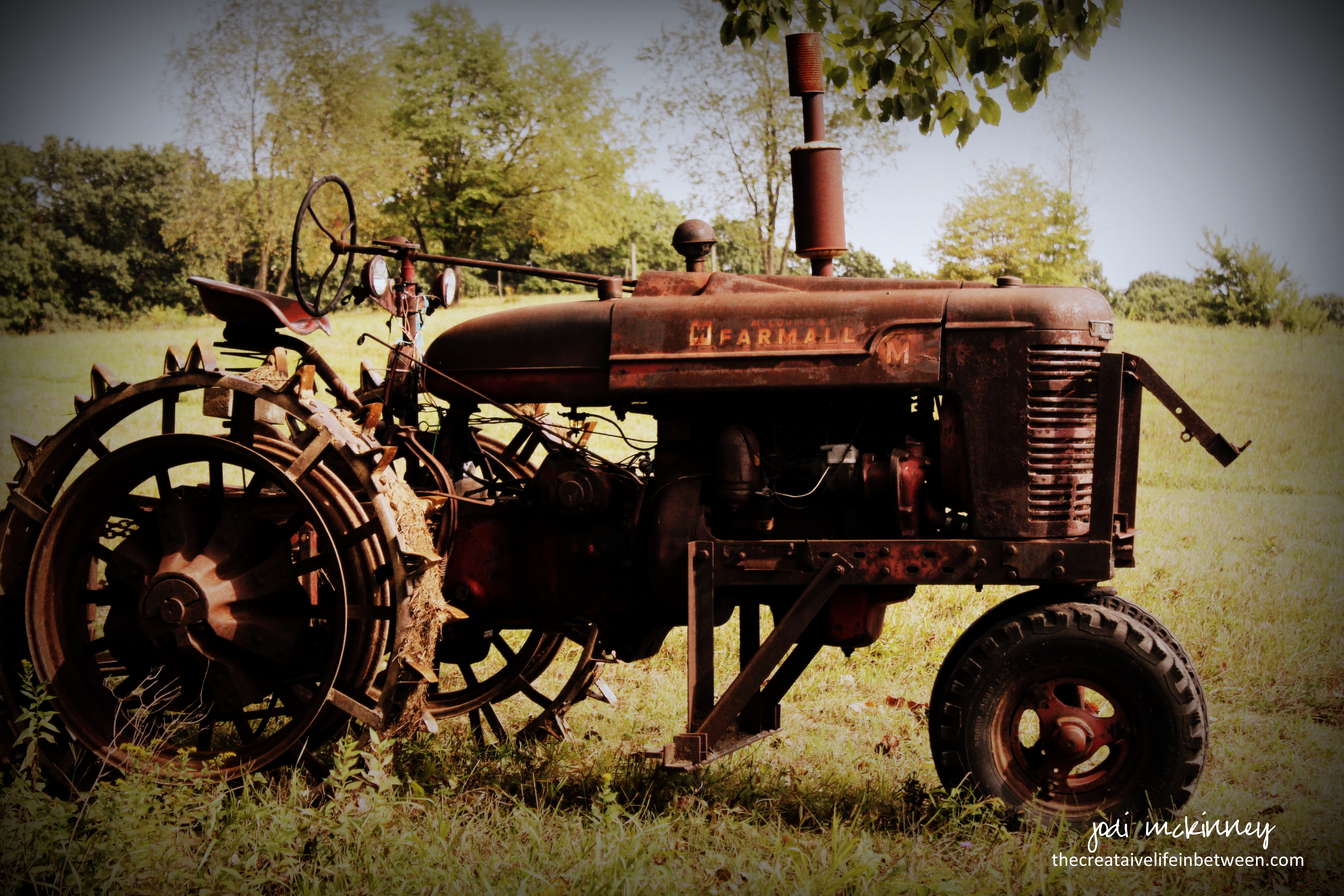 The Old Farmall Tractor, Mars, PA - September, 2017