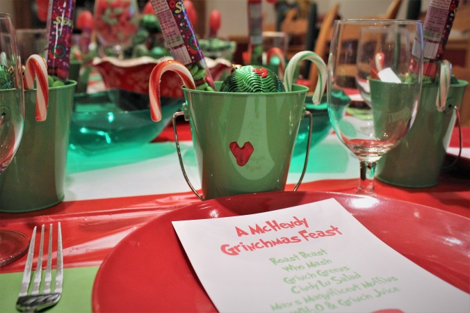 Grinchmas Feast Christmas Party - TheCreativeLifeinBetween.com