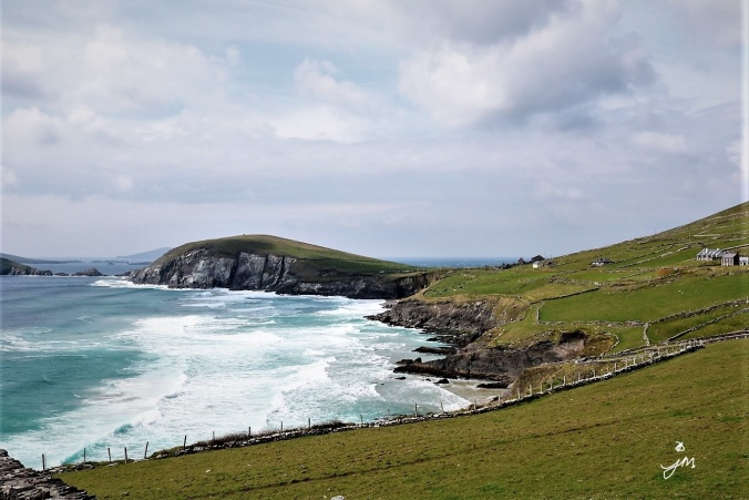 Slai Head Drive, Wild Atlantic Way, Dingle Peninsula, County Kerry, Ireland