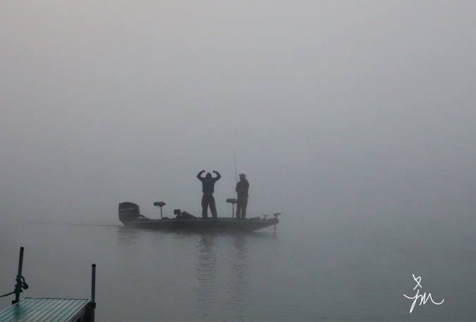 Confidence - Conneaut Lake Early Morning Fog - Summer 2019